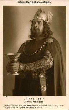 Max Lorenz Wagner Tristan Eminent Opera Singer Vienna 1941 Vintage Photo Signed Autographs-original Entertainment Memorabilia