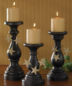 Take a look at this Blackstone Pillar Candleholder Set on zulily today!