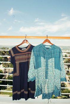 Breezy tunics via The Coveteur