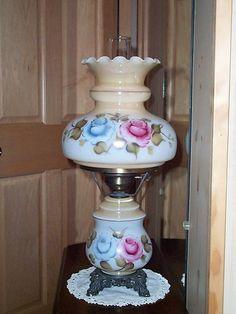 Vintage hurricane lantern