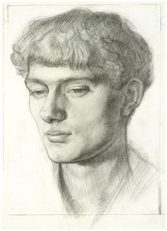 Mark Gertler (guessing it's a self portrait)