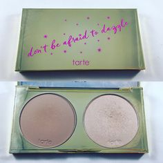 One Week One Palette - Tarte Don't Be Afraid to Dazzle Highlight and Contour palette