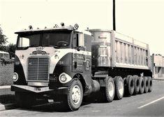 Millions of Semi Trucks: Photo Dump Trucks, Cool Trucks, Big Trucks, Heavy Duty Trucks, Heavy Truck, Vintage Trucks, Vintage Auto, Vintage Iron, Freightliner Trucks