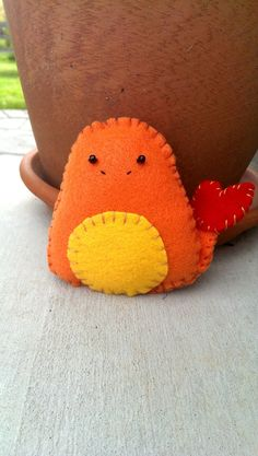 A Pokemon plush :3    Mini Charmander Plush - $15