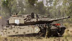 Magach ATGM Carrier, IDF The tank barrel is a fake 105mm gun, the missiles and sight/guidance systems are stored in the turret. The systems are deployed upon combat action