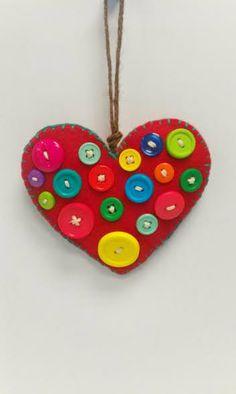 Felt Heart by Whoeverfeltitdealtit on Etsy, $4.00