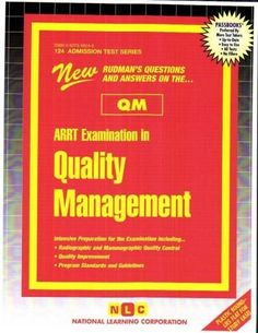 Arrt Examination in Quality
