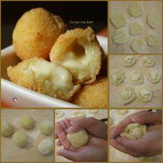 Palline di patate filanti.Siete alla ricerca di un contorno sfizioso e veloce da portare in tavola? Vi consiglio queste palline di patate filantI