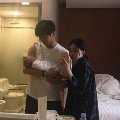 56 Trendy baby and daddy korean Cute Asian Babies, Korean Babies, Asian Kids, Cute Babies, Mode Ulzzang, Ulzzang Kids, Ulzzang Couple, Cute Family, Family Goals