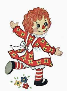 *RAGGEDY ANN ~ via Flickr.