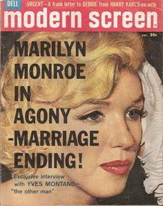 Modern Screen Magazine Dec 1960 Marilyn Monroe