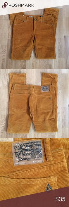 Volcom 2x4 corduroy pants ✌️️ Perfect condition ! Only worn once! Very comfortable, no flaws! These are a men's size 30x33 ✌️️ Volcom Pants Corduroy