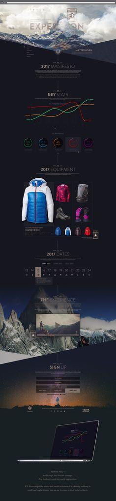 Columbia Clothing X Matterhorn - Expedition 2017 on Behance
