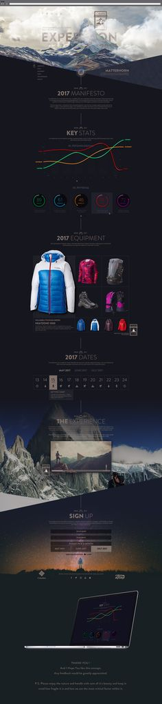 Columbia Clothing X Matterhorn - Expedition 2017 on Behance