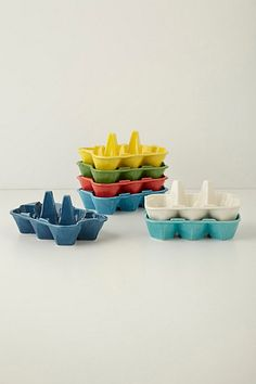 Egg crates are perfect for storing farmer's market eggs or keeping apricots free of bruises! | Anthropologie