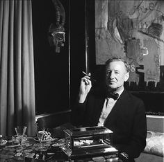 James Bond creator Ian Fleming | Photo courtesy of the Cecil Beaton Studio Archive at Sotheby's.