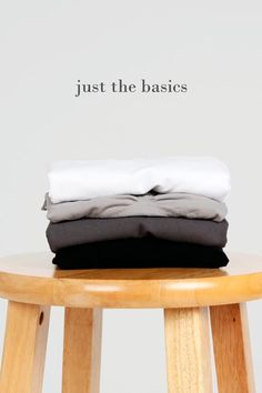 We thought of the gifts so you don't have to. The Just the Basics Gift Set is the ultimate set that includes all of our best selling luxury basics.Just the Basics Gift Set comes with one Tummy Tuck Legging in Black, one Reversible V-Scoop Tank in Dark Grey, one Cropped Corset Cami in Grey 17, and one Everyday Spaghetti