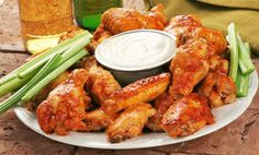 Groupon - Buffalo Wings and Beer or Fondue and Wine for Two at Eichten's Market & Cafe (46% Off) in Shafer. Groupon deal price: $11