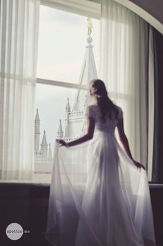 Prettiest picture of a princess and her castle- focus on Eternal Goals