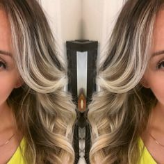 #Ombre hair blonde