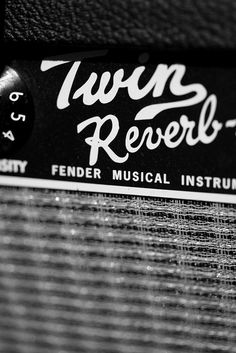 fender Twin Rerverb - maybe the best sounding blues amp ever! Guitar Rig, Cigar Box Guitar, Music Guitar, Guitar Picks, Cool Guitar, Gretsch, Sound Of Music, Kinds Of Music, Alter Ego