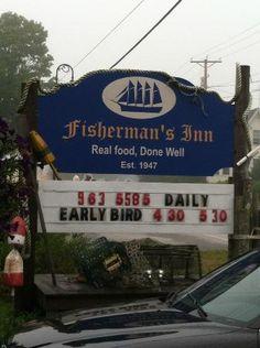 Fishermans Inn Restaurant winter harbor maine