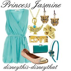 Jasmine, created by disneythis-disneythat on Polyvore