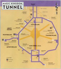 Utilidor......The underground tunnels at Disney world