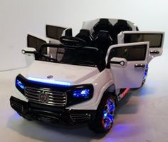 4. SUV Style Stunning 2 Seater Big Ride on SUV 12-Volt Battery Operated Car