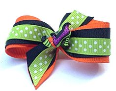 Halloween Witch high heel  Dog hair bow grooming by CreateAlley, $6.99