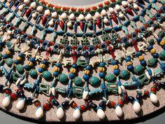 https://flic.kr/p/4sE1QV | Egyptian necklace. | Egyptian Museum Berlin.
