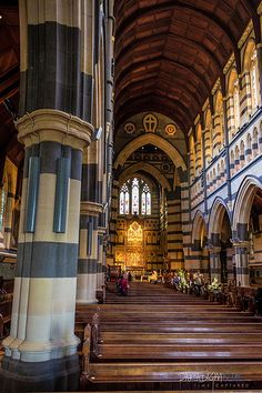Inside St Paul's Cathedral | Melbourne