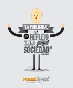 Roast Brief, Lalo Recoba, diseño, ilustración, publicidad, creatividad, la flecha en la diana, ufv, universidad francisco de vitoria