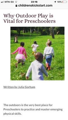 Physical Skills, Outdoor Play, Parenting Advice, Physics, Preschool, Arts And Crafts, Children, Kids, Parenting Tips