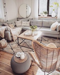 Wonderful Neutral Living Room Design Ideas To Try Contemporary living room design is known to have clean lines in the design of its furniture pieces, as well as […] College Living Rooms, Living Room On A Budget, Boho Living Room, Home And Living, Modern Living, Budget Bedroom, Contemporary Living Rooms, Nordic Living Room, Contemporary Kitchens