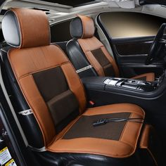 12V Cooling Car Seat Cover,Single Cushion With Cool Air And Massage Function, High-Fiber Leather,Styling Truck Sedan