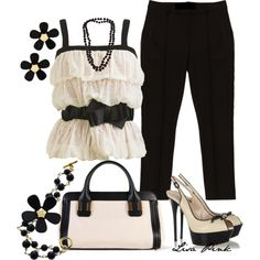 DELICATE BEIGE by lichiep on Polyvore