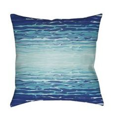 Blue Reflection Outdoor Pillow