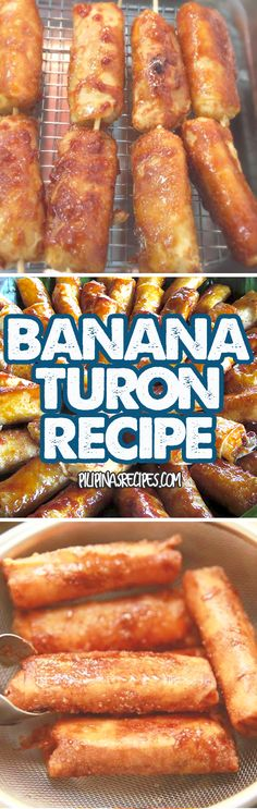 """Turon is a common dessert or snack food in the Philippines. Many """"Street Food"""" Vendors also sell it because it's popular among Pinoys"""