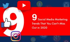 If you have a business and want to get more traffic or leads for business through #social media #marketing, then you have to consider these 9 social #media marketing trends in 2020 to get more traffic and business leads. Social Media Marketing, Digital Marketing