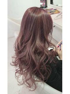 Medium Hair Cuts, Medium Hair Styles, Long Hair Styles, Cute Hair Colors, Cool Hair Color, Japanese Hair Color, Ulzzang Hair, Ashy Hair, Hair Arrange