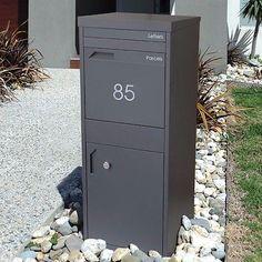 allux grandform mail parcel box briefkasten z une und. Black Bedroom Furniture Sets. Home Design Ideas