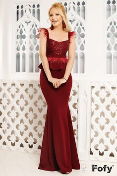 Rochii Romania is under construction Peplum, Formal Dresses, Middle, Style, Fashion, Classy Outfits, Weddings, Dresses For Formal, Swag