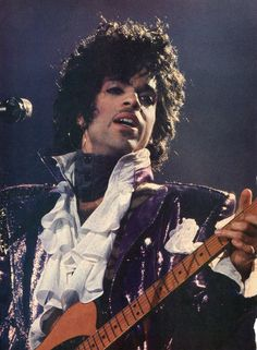 Classic Prince • 1984/85 Purple Rain Tour Concert Photo - HiRez Scan! 1,173×1,600 pixels