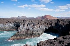 Los Hervideros. On the wild coast of the Timanfaya National Park, Lanzarote  #seatuesday with +Julia Anna Gospodarou    Los Hervideros. On the wild coast of the Timanfaya National Park, Lanzarote