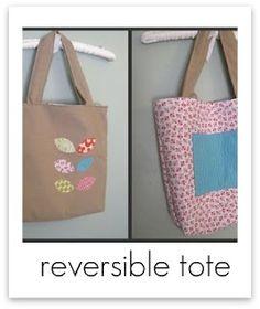 Reversible Tote Tutorials