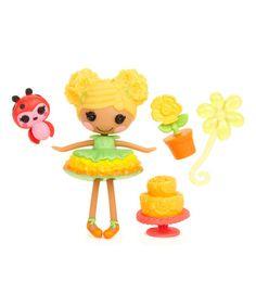 Look at this #zulilyfind! Mini Lalaloopsy Mari Golden Petals Doll #zulilyfinds