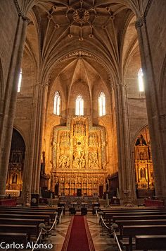 The Holy Cathedral of the Transfiguration of the Lord, also known as the Cathedral of Saint Mary Huesca, is a church in Huesca, north-eastern Spain