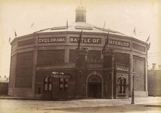Fitzroy history - the Cyclorama on Victoria Parade Australia Day, Victoria Australia, Brunswick Street, As Time Goes By, Historic Houses, Melbourne Victoria, Historical Photos, Old Photos, Natural