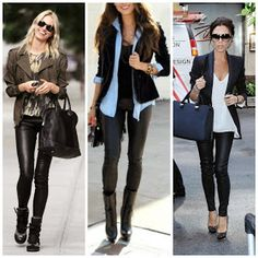 Club Fashionista: Your COMPLETE Guide on How to Wear LEATHER LEGGINGS